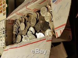 1000 Circulated Kennedy Half Dollars ($500 Face) Random Dates & Mint Marks