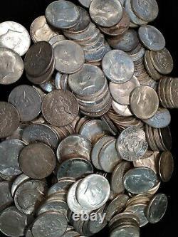 $100 Face Value 90% Silver, 1964 Kennedy Half Dollars