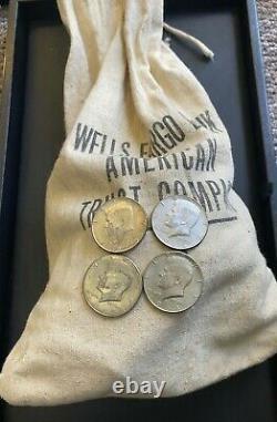 $100 Face Value Bag 200 Coins 40% Silver Kennedy Half Dollars (Circulated)