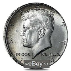 $10 Face Value Kennedy Half Dollars 40% Silver 20-Coin Roll (Avg Circ)