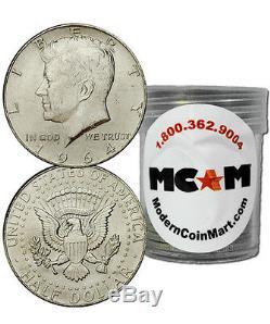 $10 Face Value Roll-20 1964 90% Silver Kennedy Half Dollar Avg Circ SKU32666