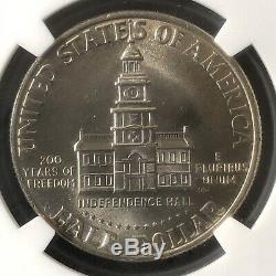 1776-1976 50C Kennedy Half Dollar NGC MS67+ 4834458-003