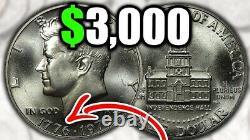 1776-1976-D Bicentennial Kennedy Half Dollar -Very Good Condition