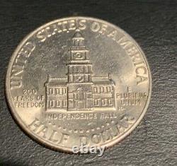 1776-1976 JOHN F KENNEDY HALF DOLLAR BICENTENNIAL COIN VG Condition