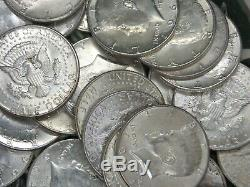 1964 $10 Face Value (Roll 20) 90% Silver Kennedy Half Dollar 50c ECC&C, Inc