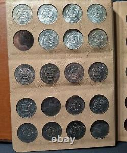 1964-1982 Kennedy Half Dollar Set-1965 Dansco Album No. 7000 29 coin collection