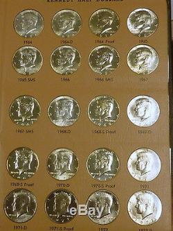 1964-2006 Kennedy Half Dollar Set PDSS Including proofs and Silver Proofs & SMS