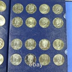 1964-2011 Kennedy Half Dollar Set withproofs (134 Coins) in Whitman Classic Album