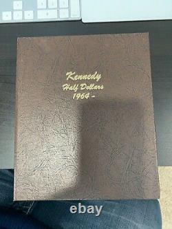 1964-2020 P&d Kennedy Half Dollar Complete Set (106 Coins) Bu/au In Dansco Album