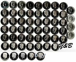 1964 2020 S Proof Kennedy Half Dollar Complete Set (include silver proof, SMS)
