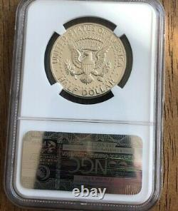1964 50C Silver Kennedy Half Dollar Proof Accented Hair Variety NGC PF67