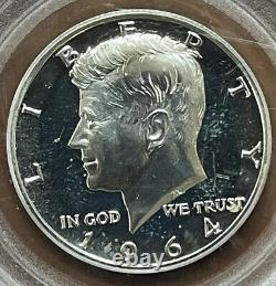 1964 Accented Hair Kennedy Half Dollar Silver PCGS PR66 PR-66 Cameo Proof Coin