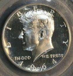 1964 Accented Hair PCGS PR67 PF67 Cameo Kennedy Half Dollar