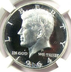 1964 Accented Hair Proof Kennedy Half Dollar 50C NGC PR68 Cameo $1,850 Value