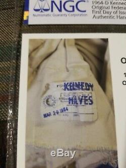 1964 D Kennedy Half Dollar 50c Ngc Choice Bu Fdoi, Original Fed. Res. Mint Bag
