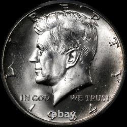 1964-D Kennedy Half Dollar PCGS MS66 Double Die Obverse FS-101 STOCK
