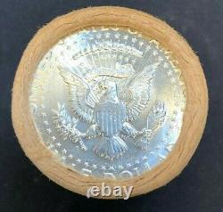 1964 D Kennedy Half Dollars Original Bank Roll BU