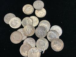 1964 KENNEDY HALF DOLLARS-LOT of 20