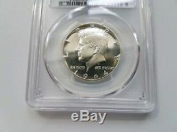 1964 KENNEDY Silver Half Dollar PCGS PR 68 Mint Error Double Die Obverse DDO PF