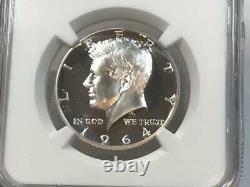 1964 Kennedy Half Dollar Pf 68 Ultra Cameo Rare Pr Dcam