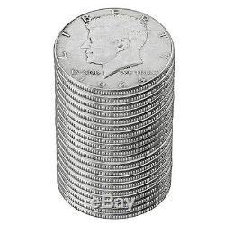 1964 Kennedy Half Dollar Roll Circulated (20 Coins)