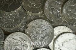 1964 Kennedy Half Dollars Roll of (20) 90% Silver M-2907
