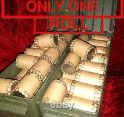 1964 Kennedy! +ONE UNOPENED HALF DOLLAR BANK ROLL MIGHT HAVE 90% SILVER COINS