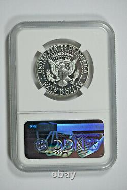 1964 NGC PF66 CAMEO Accent Hair Kennedy Half Dollar Price Guide $240