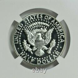 1964 NGC PF 67 CAMEO Accent Hair Silver Kennedy Half Dollar-Price Guide $575