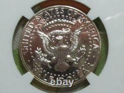 1964 Proof Accented Hair Kennedy Half Dollar-NGC PF 67