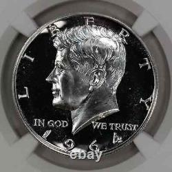1964 Proof Kennedy Half Dollar 50c Accent Hair Ngc Certified Pf 69 Proof (021)