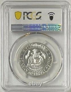 1964 Silver Kennedy Half Dollar Accented Hair PCGS PR69 Pop 63