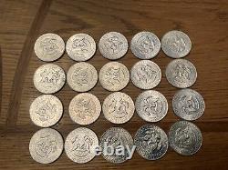 1964 kennedy half dollar roll uncirculated
