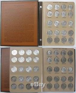 1964 to 2019 Proof & Unc Kennedy Half Dollar 190pc Set in Dansco Albums
