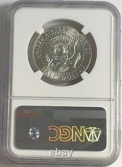 1965 P NGC MS66 SILVER KENNEDY HALF DOLLAR JFK COIN SIGNATURE 50c