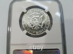 1966 SMS Kennedy Half Dollar Double Profile NGC MS 67 Doubled Die Obverse DDO