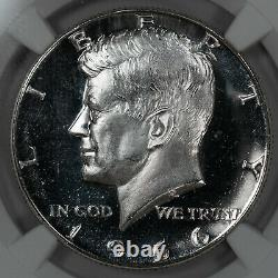 1966 Sms Kennedy Half Dollar 50c Ngc Certified Ms 67 Unc Ultra Cameo (002)