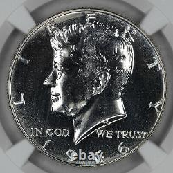 1966 Sms No'fg' Kennedy Half Dollar 50c Ngc Certified Ms 67 Mint State Unc 001