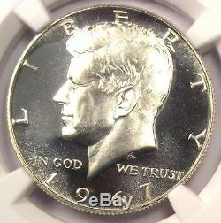 1967 SMS Kennedy Half Dollar 50C Coin NGC MS68 Cameo PQ $825 Value