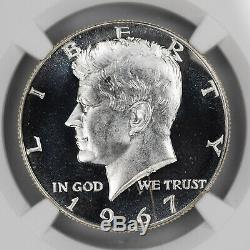1967 Sms Kennedy Half Dollar 50c Ngc Ms 68 Mint State Unc Ultra Cameo (001)