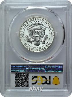 1968 S 50C Kennedy Half Dollar PCGS PR 64 Inverted Mintmark FS-511