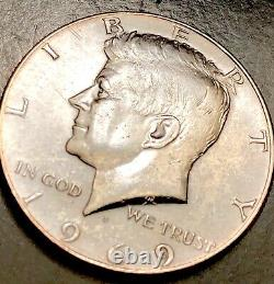1969 D Kennedy Half Dollar Beautiful Tone Excellent Luster