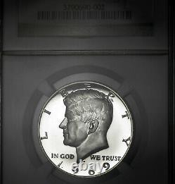 1969-S PF69 Ultra Cameo Kennedy Half Dollar 50c Proof, NGC Graded PR69 DCAM