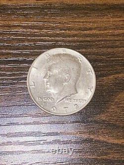 1972 John F Kennedy Half Dollar, No Mint Mark