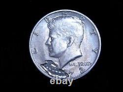 1972 Kennedy Half Dollar Unique Mechanical Mint Error RARE. P202