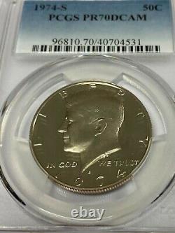 1974-S Kennedy Half Dollar PCGS PR70DCAM
