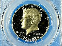 1976 S 3-Coin, Silver Bicentennial Set, Dollar, Half, Quarter PCGS Pf 70 Dcam