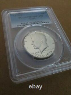 1976 S Kennedy CLAD Half Dollar Proof PCGS PR70DCAM Deep Cameo 50c Blue Label