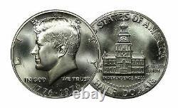 1976-S Kennedy Half dollar BU Bicentennial 40% Silver Roll 20 US Coins