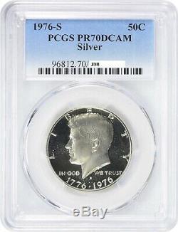 1976-S Kennedy Silver Half Dollar 50C PCGS PR70 DCAM